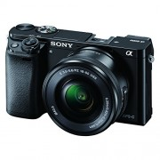 Sony Alpha A6000L 24.3MP Digital SLR Camera (Black) with 16-50mm Lens (ILCE-6000L)