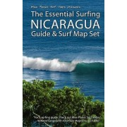 The Essential Surfing Nicaragua Guide & Surf Map Set by Blue Planet Surf Maps