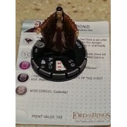 LOTR Heroclix The Lord of the Rings Fellowship of the Ring Elrond #27 gravity feed