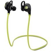 Mpow Swift Bluetooth 4.0 Stereo Sweatproof Jogger Running Sport Headphones Earbuds with AptX Mic Hands-free Calling-Fluorescence Green