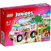 Конструктор Лего Джуниърс - Камионът за сладолед на Emma - Juniors, 10727