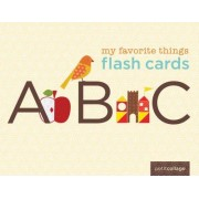 My Favorite Things Flash Cards by Lorena Siminovich