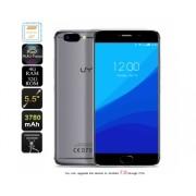 UMi Z Smartphone - 7.0 support Android, Deca-Core Helio X27 CPU, 13MP appareil photo, 4 Go de RAM, 4G (Gris)