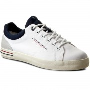 Сникърси PEPE JEANS - North Nylon PMS30350 White 800