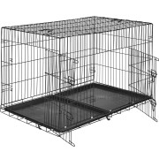 TecTake Hundbur-gallerbox 122 x 76 x 81 cm av TecTake