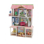 Kidkraft Sweet Savannah Dollhouse with Furniture, Multi Color