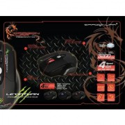 Dragonwar Leviathan ELE-G1 Gaming Laser Mouse (Black)