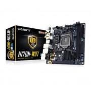 Carte mre Mini-ITX GA-H170N-WIFI Socket 1151 Intel H170 Express - SATA 6Gb/s + M.2 + SATA Express - USB 3.1 - 1x PCI-Express 3.0 16x - Wi-Fi AC / Bluetooth 4.2