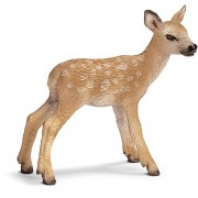 Schleich Red Deer Calf Toy Figure