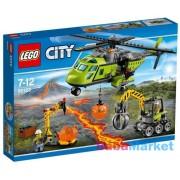 LEGO CITY Vulkánkutató szállítóhelikopter 60123
