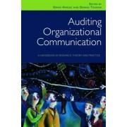 Auditing Organizational Communication by Owen Hargie