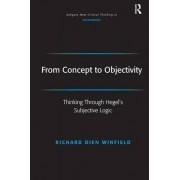From Concept to Objectivity by Richard Dien Winfield