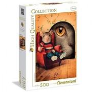 Clementoni Through The Keyhole Puzzle (500 Piece)