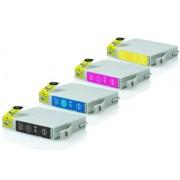 Epson T0551-T0554 промо пакет (BK,C,M,Y) 4бр.
