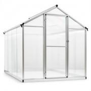 Blumfeldt Greencastle 4K üvegház, 190 x 195 x 242 cm (SZxMxM), alumínium, műanyag (CPT7-Greencastle-4K)