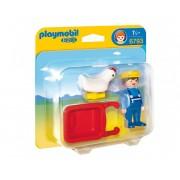 Фермер с ръчна количка Playmobil 6793