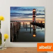 Jouw Foto op Aluminium - Aluminium Vierkant 30x30 cm.