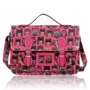 Kabelka LS fashion LS00226B - Růžová