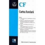 Cartea funciara act 17 septembrie 2014