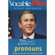 Vocable Plus, Activate Your English, N° 330, Nov. 1998 (Contents: Is There A Pronoun Or Not ? Which, Who, Whose, That ? Coffeepot. Culture Shock. Revisions...)