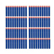 Z Jchao 100pcs Replacement Foam Darts For Nerf N Strike Elite Rampage Retaliator Series Blasters Refill Clip Darts Electric Toy Gun Soft Bullet Toy Bullet