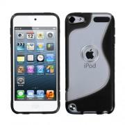 Funda Protector Apple Ipod 5 Transparente / Negro