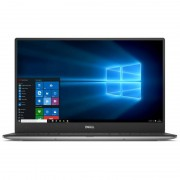 Laptop Dell XPS 13 9350 13.3 inch Quad HD+ Touch Intel Core i5-6300U 8GB DDR3 256GB SSD Windows 10 Silver