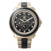 【52%OFF】PEDIGREE ラウンド ビジュー インダイヤル ステンレスベルト ウォッチ ゴールド ファッション > 腕時計~~レディース 腕時計