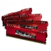 Memorie G.Skill RipJawsZ 8GB (4x2GB) DDR3 PC3-12800 CL9 1.5V 1600MHz Intel Z87 / Z77 / X79 Quad Channel Kit, F3-12800CL9Q-8GBZL
