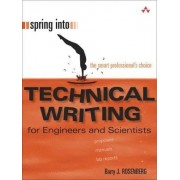Spring into Technical Writing by Barry J. Rosenberg