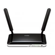 D-Link DWR-921/E 4G LTE Router, 4x10/100Mbps LAN, 1x10/100Mbps WAN