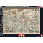 Educa 16005 1500 - Mappa Mondiale