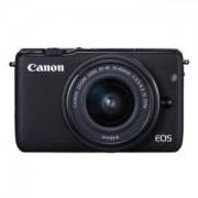 Цифров фотоапарат Canon EOS M10 black + EF-M 15-45mm IS STM/AJ0584C012AA