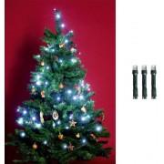 Beltéri karácsonyfa fényfüzér 200 LED hideg fehér KI 200 LEDWH