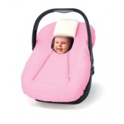 Cozy Car Seat Microfiber and Fleece Cover- Pink by Cozy Baby