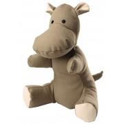 Hunter Dog Toy Canvas Hippo