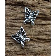 oorstekers vlinder zilver 103-2