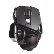 Mad Catz Office R.A.T. Wireless Mouse for PC and Android - Gloss Black