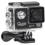 Camera Video de Actiune Kruger&Matz KOM0904, Filmare FHD, Waterproof, WiFi (Neagra)