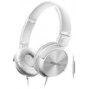 Casti Stereo Philips SHL3065WT, Microfon (Alb)