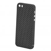 Husa Premium de Carbon NEVOX pentru Apple iPhone SE/5s/5, Black