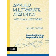 Applied Multivariate Statistics with SAS Software, by Khattree