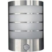 CALGARY wall lantern inox 1x12W 230V
