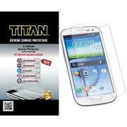 TITAN Anti-Breakage Anti-Scratch Screen Protector for Samsung Galaxy S3 - Frustration-Free Packaging - Clear