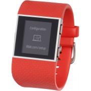 FitBit Surge GPS Fitness Tracker in orange, Größe: L
