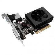 PNY GF730GT1GEPB Scheda Grafica NVIDIA GeForce GT 730, 902 MHz, 2 GB, PCI Express