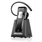 Bluedio 99A Bluetooth Stereo Headset for Mobile Phones - Retail Packaging - Black