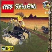LEGO 1182 System - Aventuras de Johnny Thunder en la balsa (año 1999)