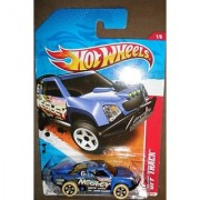 HOT WHEELS 2011 THRILL RACERS DESERT 1/6 BLUE NEELEY 181/244 OFF TRACK by Hot Wheels