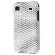 Samsung I9000 Galaxy S Slim Mesh Case - Samsung Hard Case (White)